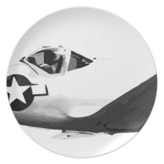 Bell_XP-77_in_flight_(SN_43-34916) Plate