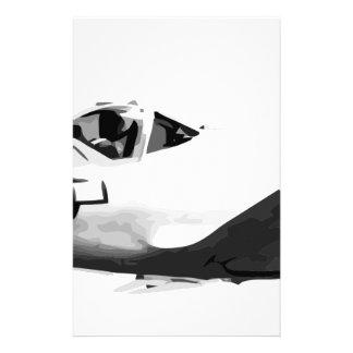Bell_XP-77_in_flight_(SN_43-34916) Stationery