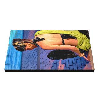 """""""Bella a Riposo"""" Canvas Print"""