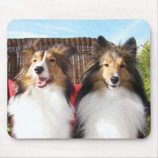 Bella and Grace - On the Porch Mousepad