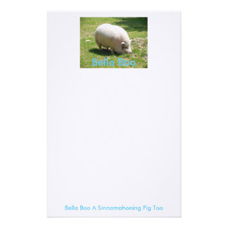 Bella Boo Stationary Tablet Stationery