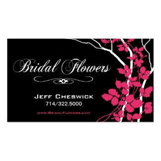 Bella Bridal Floral Arrangements Special Thanks Business Cards