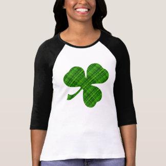 Bella des femmes de shamrock 3/4 T-shirt de raglan