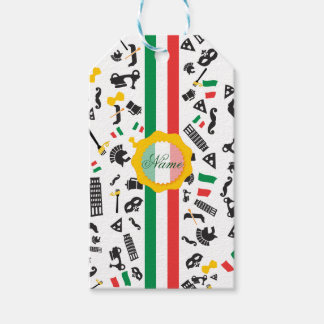 Bella Italia Pack Of Gift Tags