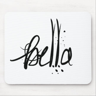 Bella Italian French Beauty Mouse Pad