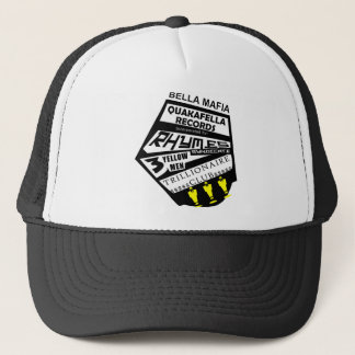 Bella Mafia Quackafella Records Incorporated Trucker Hat