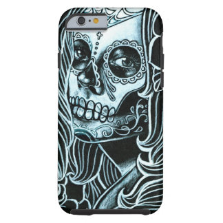 Bella Morte Day of the Dead Sugar Skull Girl Tough iPhone 6 Case