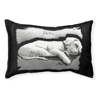 Bella, Sleeping Puppy, Let Sleeping Dogs Lie, Small Dog Bed