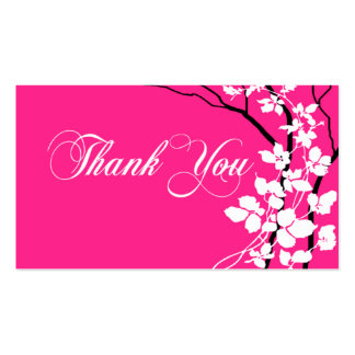 Bella Thank You Gift Tag Special Thanks Business Card Template