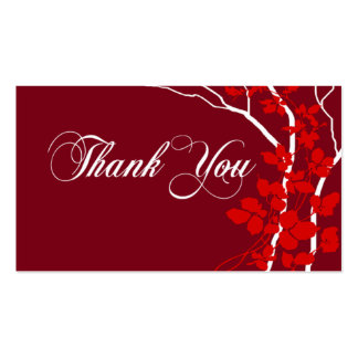 Bella Thank You Gift Tag Special Thanks Pack Of Standard Business Cards