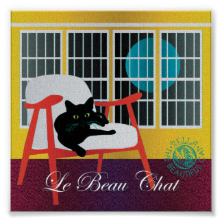 "Bella: The Beautiful Cat 02 6""x6"" Poster"