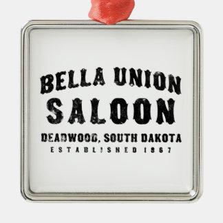Bella Union South Dakota Metal Ornament