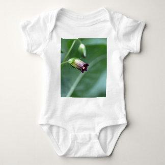 Belladonna or deadly nightshade (Atropa belladonna Baby Bodysuit