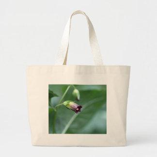 Belladonna or deadly nightshade (Atropa belladonna Large Tote Bag