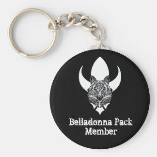 Belladonna Pack Keychain