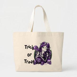 Belladonna Purple Fae Halloween Trick or Treat Bag