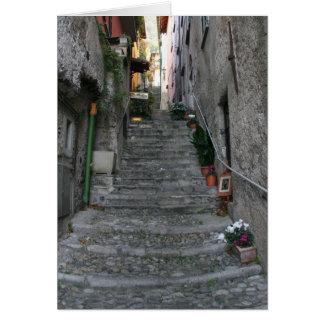 Bellagio Narrow Streets Card