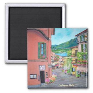 Bellagio Street, Italy - Magnet
