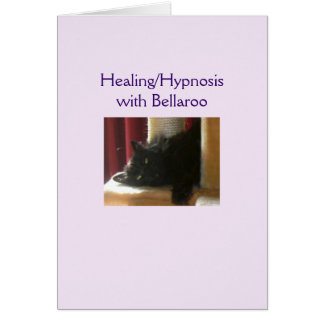 Bellaroo Healing/Hypnosis Greeting Card