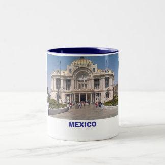 bellas artes, MEXICO Two-Tone Coffee Mug