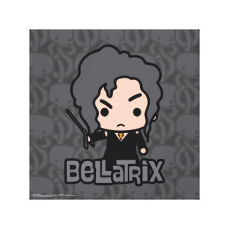 Bellatrix Cartoon Character Art Canvas Print