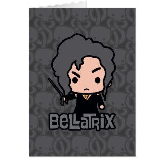 Bellatrix Cartoon Character Art Card