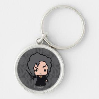 Bellatrix Cartoon Character Art Keychain
