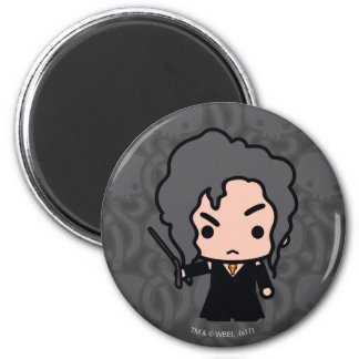 Bellatrix Cartoon Character Art Magnet