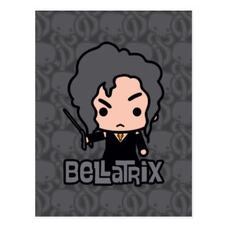 Bellatrix Cartoon Character Art Postcard