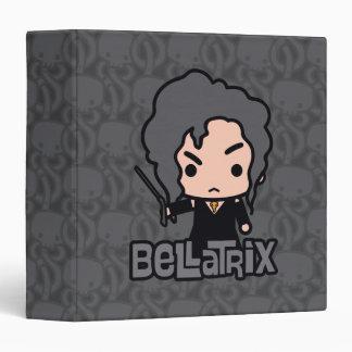 Bellatrix Cartoon Character Art Vinyl Binders