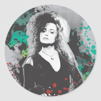 Bellatrix Lestrange Graphic Logo Classic Round Sticker