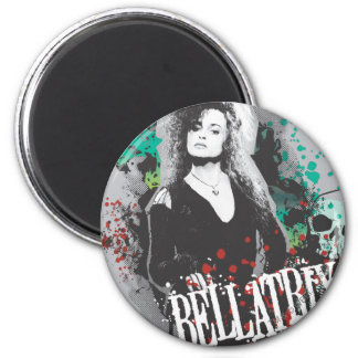 Bellatrix Lestrange Graphic Logo Magnet