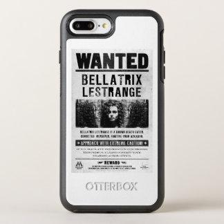 Bellatrix Lestrange Wanted Poster OtterBox Symmetry iPhone 8 Plus/7 Plus Case