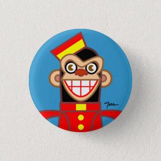 Bellboy Chimp 1 Inch Round Button
