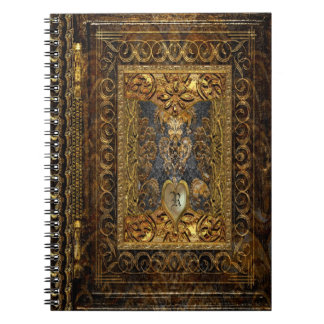 Belldore  Victorian Elegant Monogram Notebook