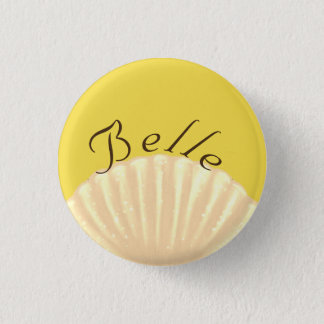 Belle 1 Inch Round Button