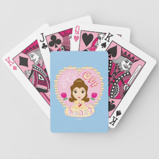Belle | Back Off Beast Bicycle Playing Cards