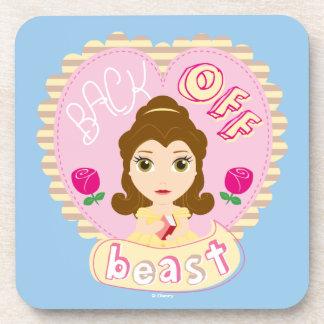 Belle | Back Off Beast Coasters