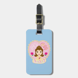 Belle | Back Off Beast Luggage Tag