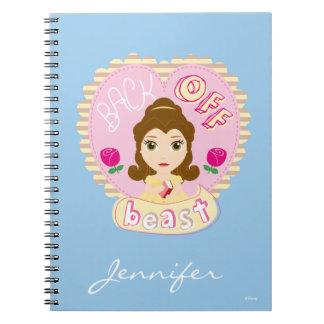 Belle | Back Off Beast Notebooks