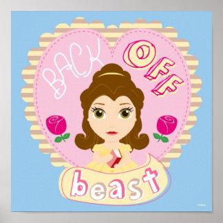 Belle | Back Off Beast Poster