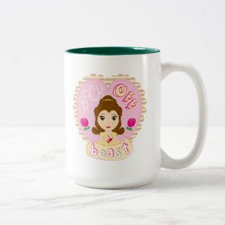 Belle | Back Off Beast Two-Tone Coffee Mug