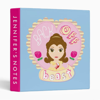 Belle | Back Off Beast Vinyl Binder