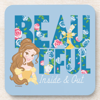 Belle | Beautfiul Inside & Out Drink Coaster