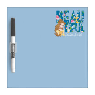 Belle   Beautfiul Inside & Out Dry Erase Whiteboard