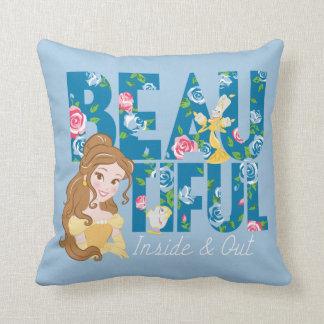 Belle | Beautfiul Inside & Out Throw Pillow