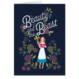 Belle | Beauty And The Beast Card
