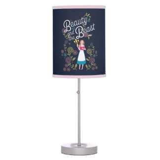 Belle | Beauty And The Beast Desk Lamps