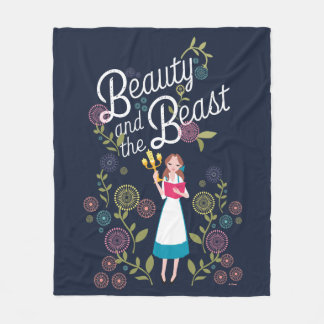 Belle | Beauty And The Beast Fleece Blanket