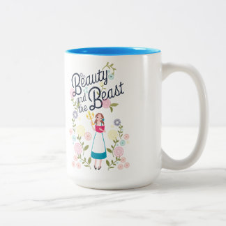 Belle | Beauty And The Beast Two-Tone Coffee Mug